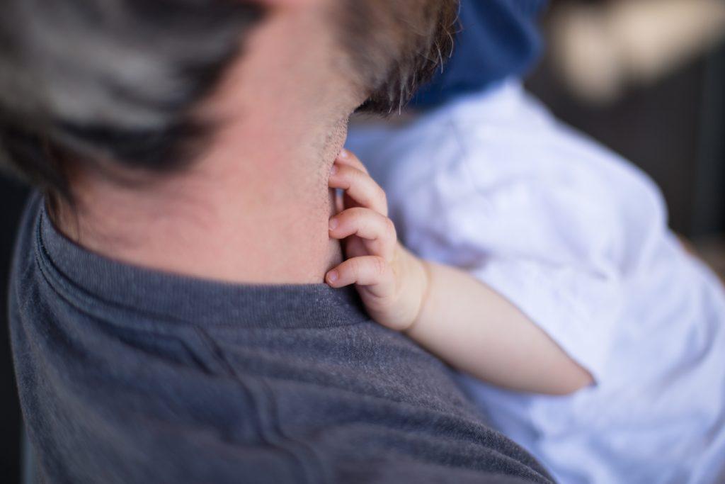 赤ちゃんとパパ